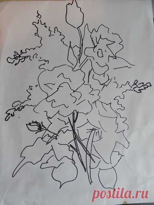 (+1) тема - МК картины из лент (часть 1)   Хвастуны и хвастушки