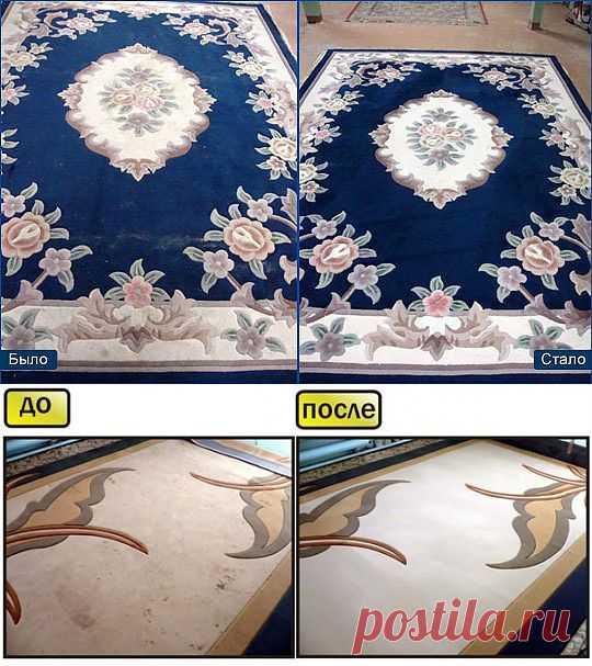 Домашнее средство для чистки ковров   МОЯ КВАРТИРА