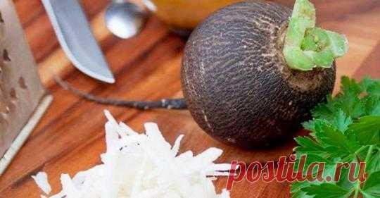 Черная редька лечит диабет и отеки: 12 отличных народных рецептов!