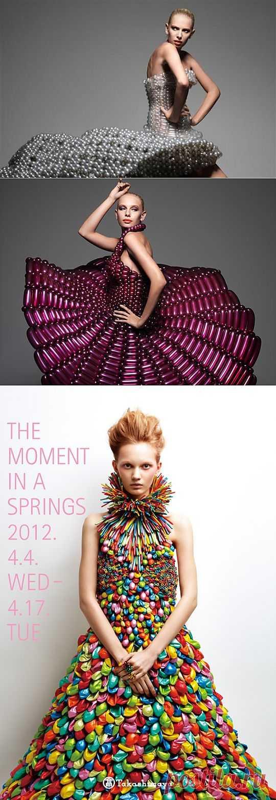 Воздушные платья от Daisy Balloon / Креатив в моде / Модный сайт о стильной переделке одежды и интерьера
