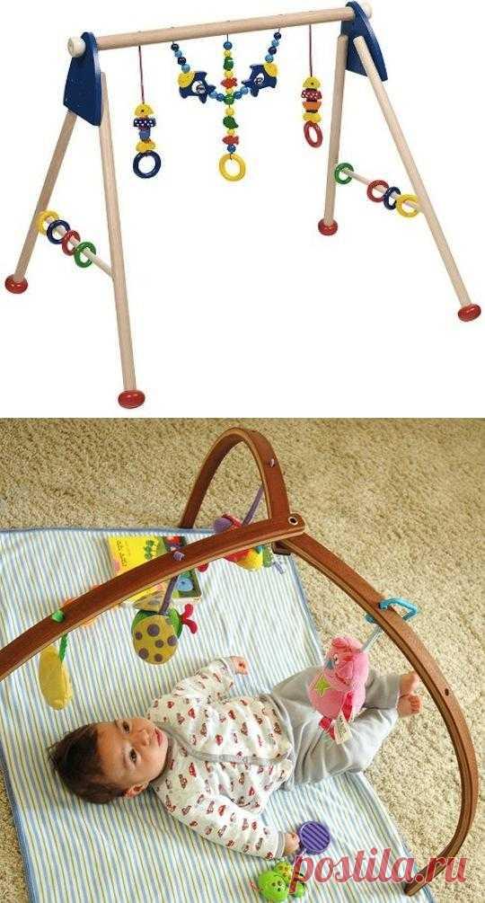 Грудной ребенок, цвета и формы: 20 деревянных модулей для детей.