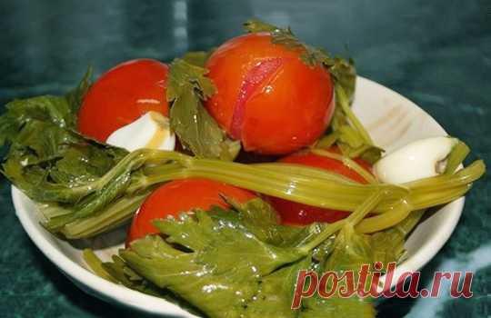 Квашенные помидоры по-быстрому ⋆ Кулинарная страничка