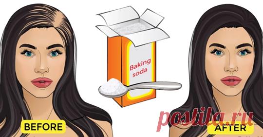 Пищевая сода может остановить выпадение волос и омолаживает волосы, а также способствует росту волос - Интересный блог