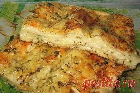Пирог сырный из лаваша — Хозяюшка