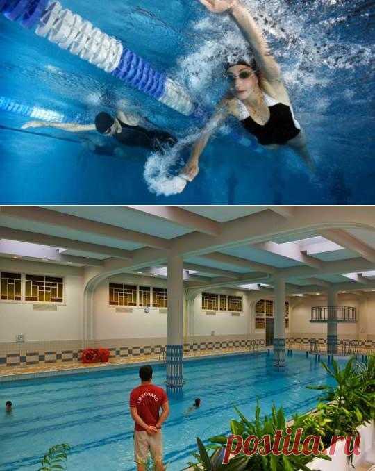 Плавание: лучший вид спорта