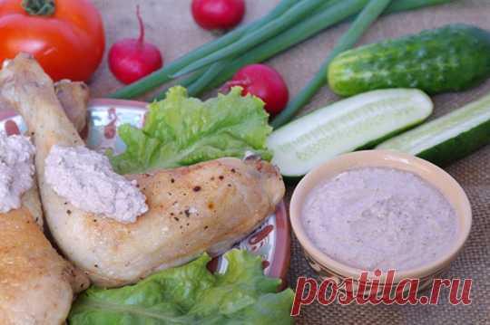 Ореховый соус для курицы