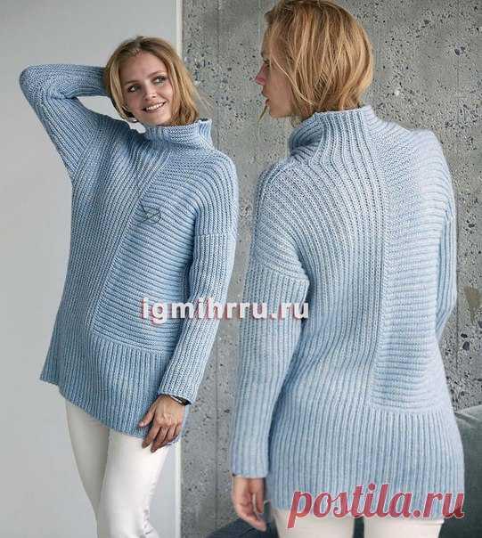 уютное место вязание вязание свитер постила