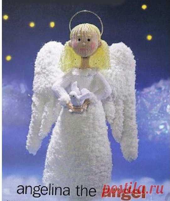 El ángel navideño de Apan Dart