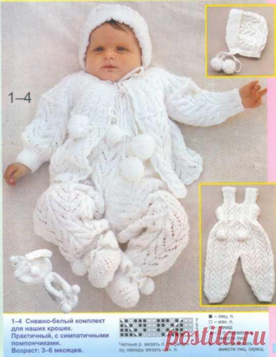 костюм тройка связанный для новорожденного костюмчики для новорожд