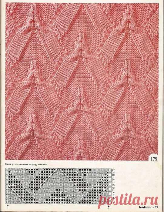 Шикарные узоры! | Вязание спицами для начинающих