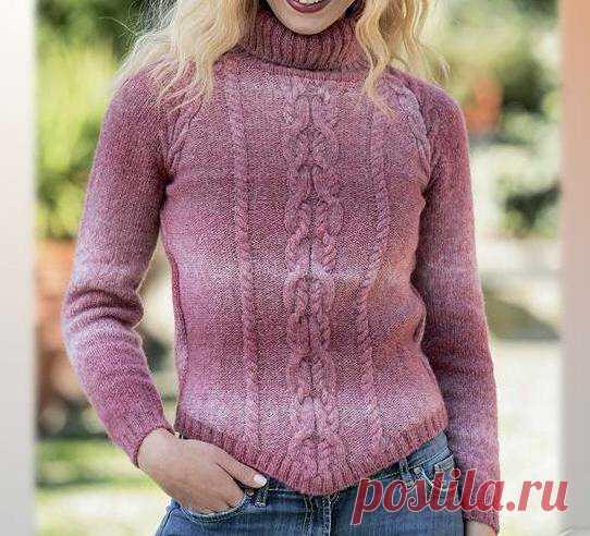 Вяжем спицами пуловеры незаурядные и классические. | Венера Хасанова | Яндекс Дзен