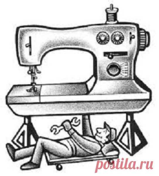 ДЕФЕКТЫ В РАБОТЕ ШВЕЙНОЙ МАШИНЫ   Слабая строчка. Слабой строчкой называют такую строчку, при которой лоскуты ткани в шве недостаточно прижаты друг к другу, хоть переплетение ниток происходит правильно. При слабой строчке между сшитыми лоскутами ткани, если их слегка оттягивать друг от друга по шву, видны нитки стежков.  Причиной слабой строчки является недостаточное натяжение обеих ниток.    Тугая строчка. При слишком сильном натяжении обеих ниток получается тугая строчка...