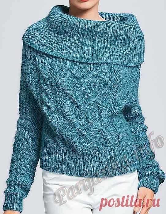 Пуловер (ж) 01 Origin 5 Bergere de France №3435