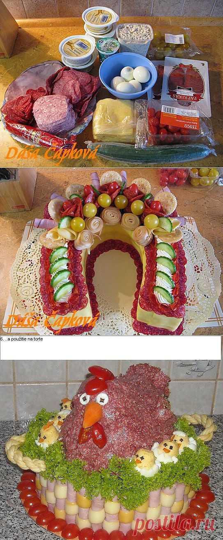 Закусочный торт | ВКУСНО ПОЕДИМ!