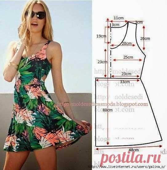 3ca99f2087e выкройки платьев - Самое интересное в блогах