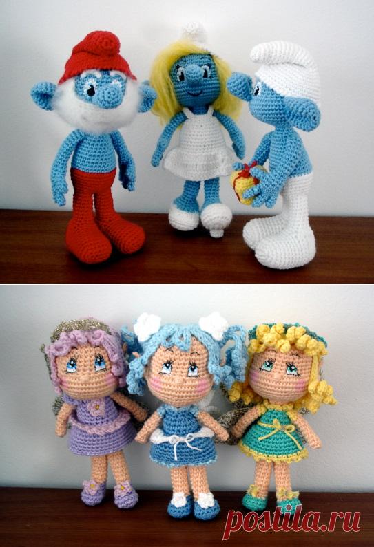 Амигуруми куклы » пользователя Наташа