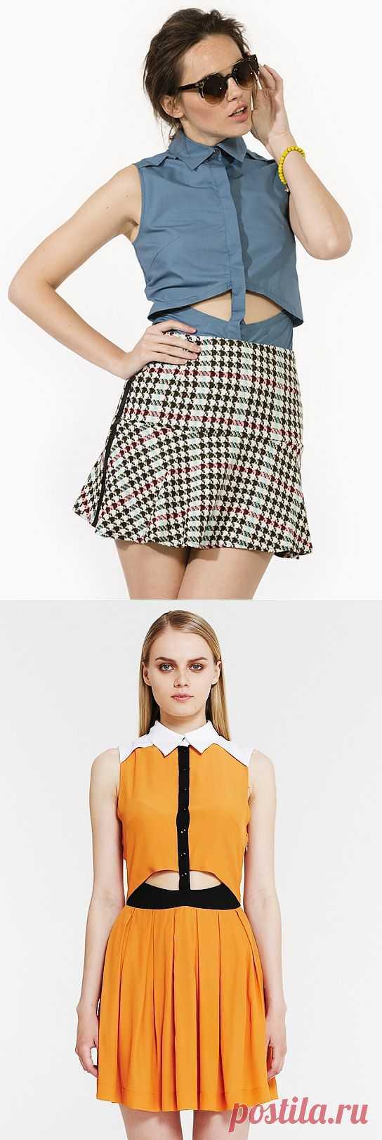 Жилет и платье I am / Дизайнеры / Модный сайт о стильной переделке одежды и интерьера