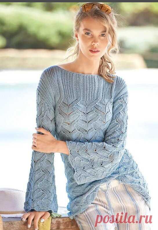 Подборка пуловеров спицами. Пуловеры спицами с описанием.  Простые и красивые узоры, схемы вязания. Вязание спицами для женщин. Смотрите также рубрики: Вязание крючком - вязание для женщин, вязание для мужчин, вязание детям и схемы вязания на сайте
