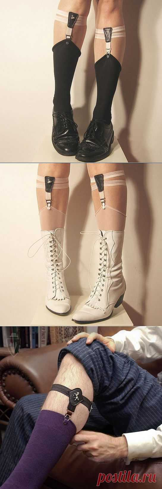 Чулочно-носочные подтяжки (подборка) / Носки, колготки, леггинсы / Модный сайт о стильной переделке одежды и интерьера