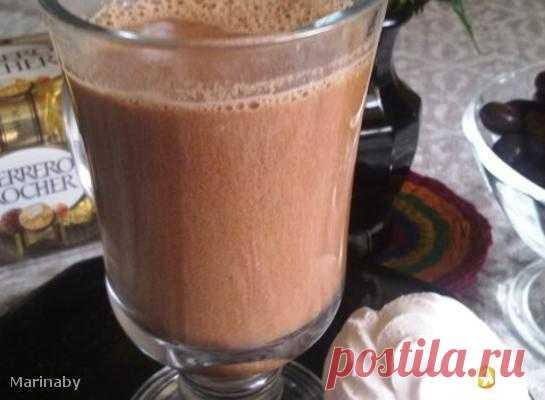 Горячий шоколад с имбирем