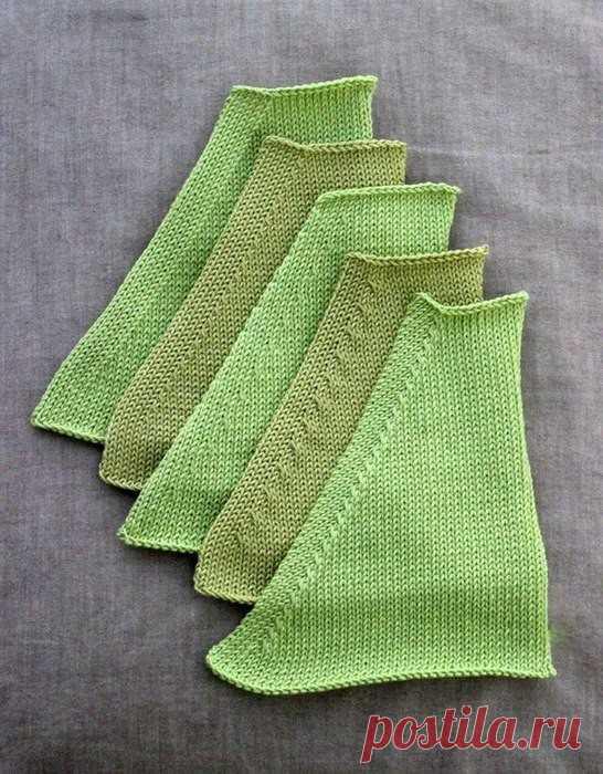 Как красиво делать убавления в вязании спицами (Уроки и МК по ВЯЗАНИЮ) | Журнал Вдохновение Рукодельницы