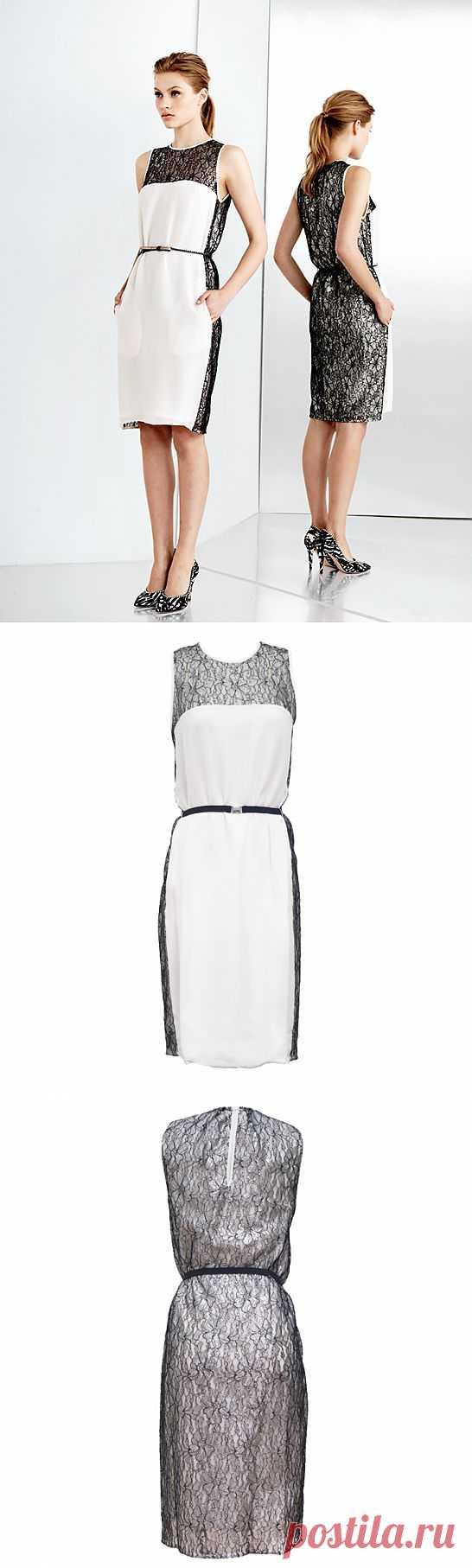 Платье с кружевом / Кружево / Модный сайт о стильной переделке одежды и интерьера