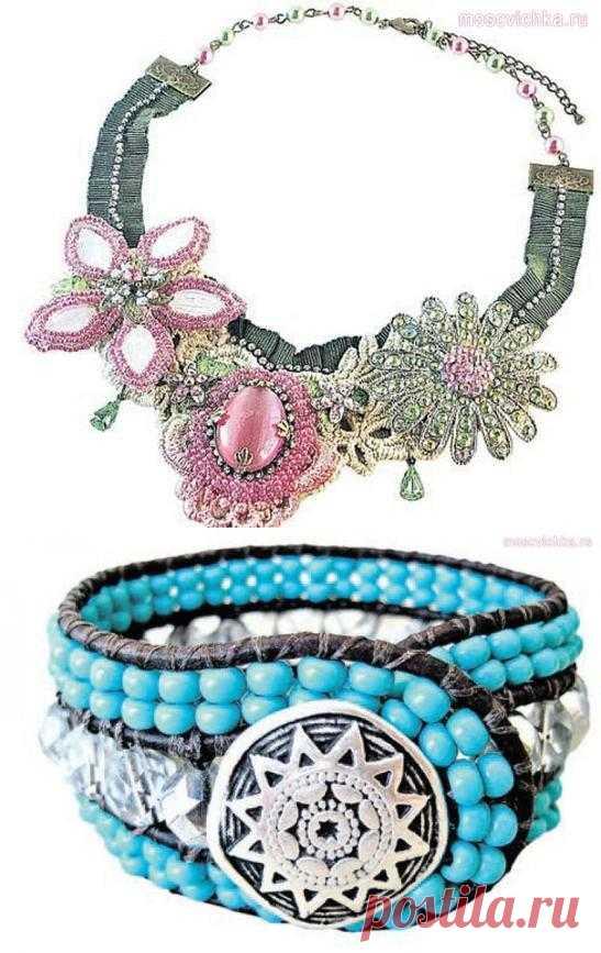 Вдохновляемся красивыми бисерными украшениями!