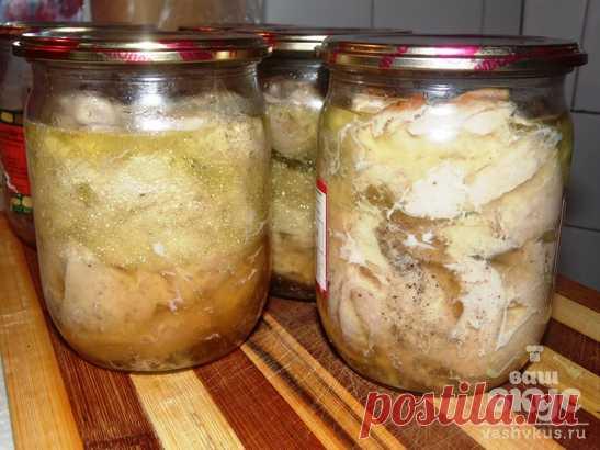 Куриная тушенка в духовке (пошаговый фото рецепт) - ВашВкус