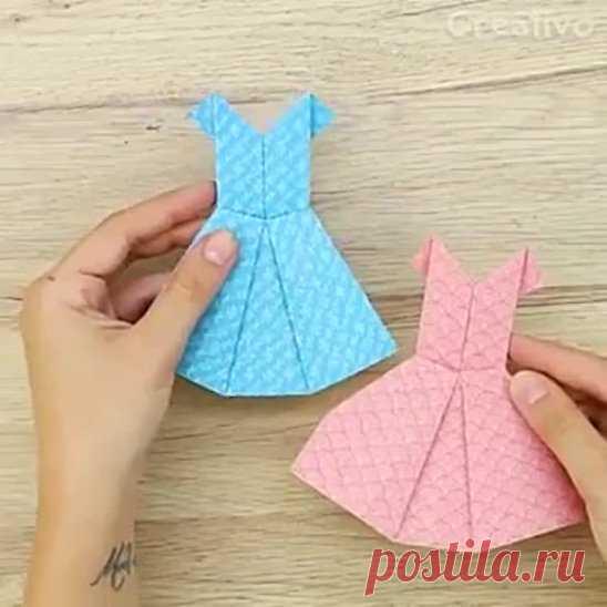 Оригами платье группа https://ok.ru/sozdanosvo
