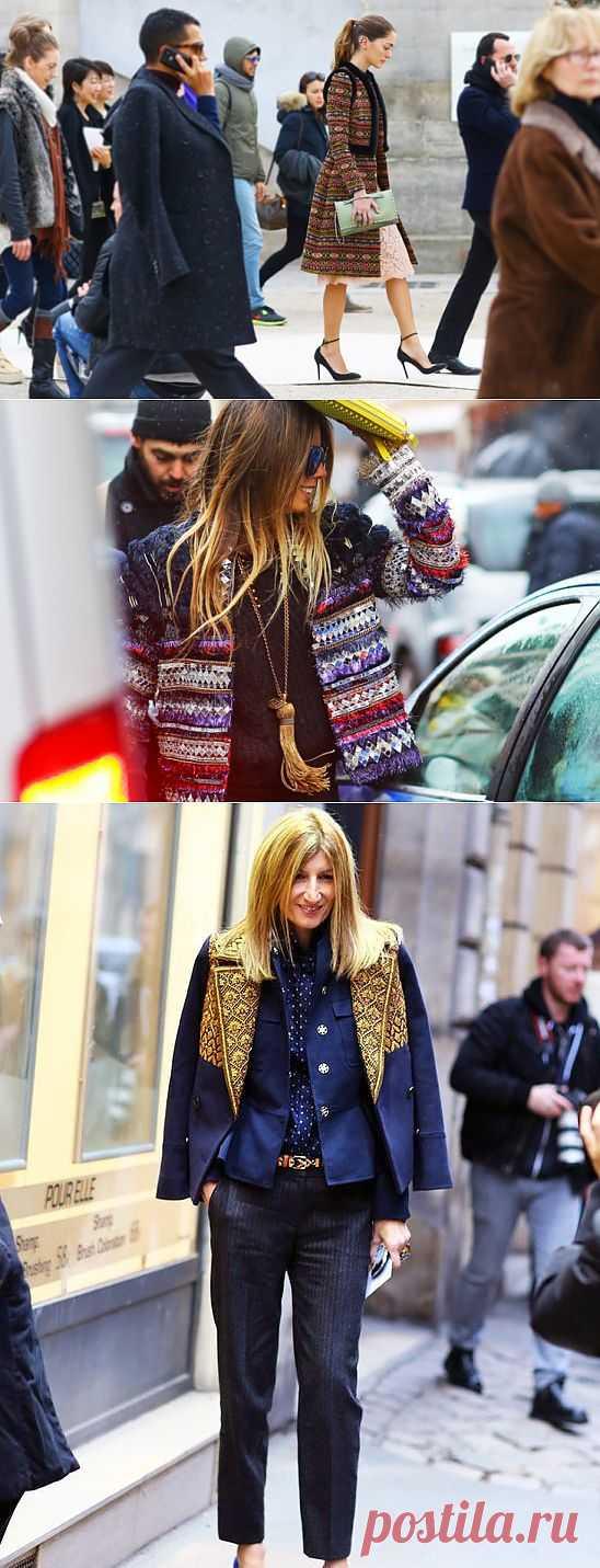 Парча и тесьма в верхней одежде (подборка) / Street Style / Модный сайт о стильной переделке одежды и интерьера