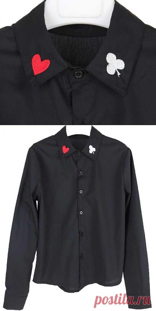 Покер / Воротнички / Модный сайт о стильной переделке одежды и интерьера