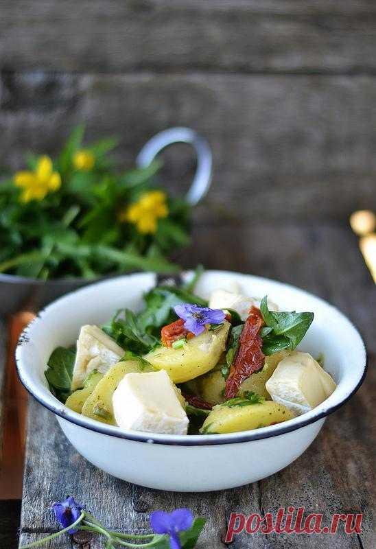 О вкусной и здоровой пище, - Салат из одуванчиков