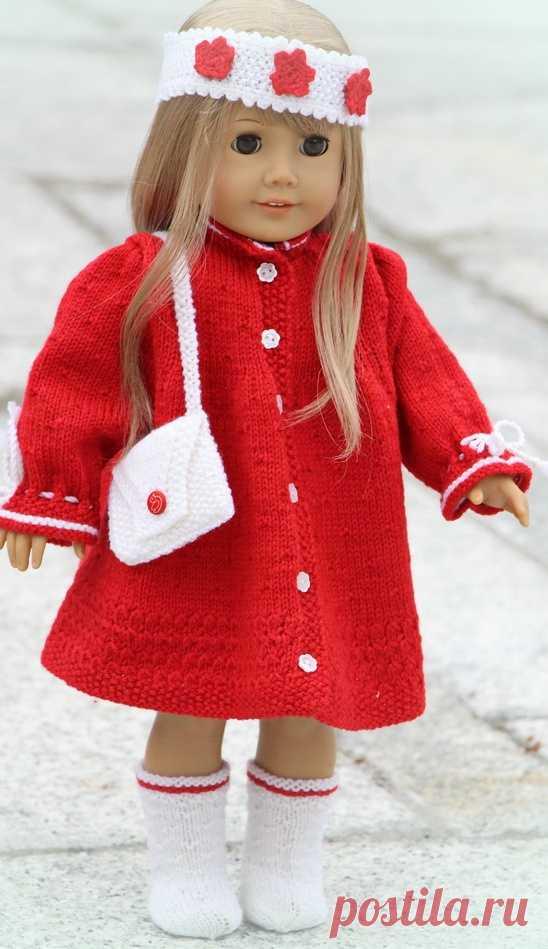 вязание для американская девушка кукла одежда вязание для американск