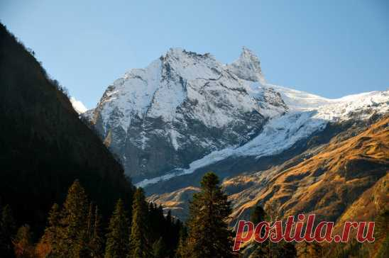 Гора Суфруджу. Северный Кавказ. Карачаево - Черкесия.