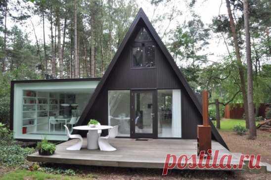 Потрясающий домик в лесу