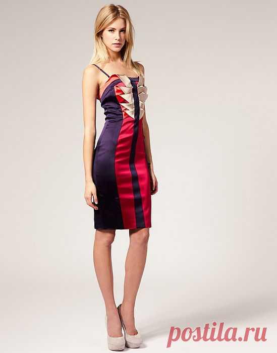 Оригами как декор платья! / Платья Diy / Модный сайт о стильной переделке одежды и интерьера