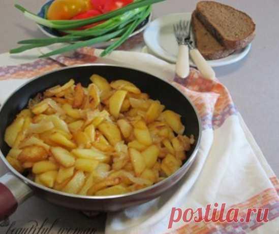 Жареный картофель по-одесски. Секреты приготовления вкусного жареного картофеля от шеф-повара одесского ресторана.
