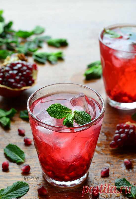 Холодный чай: пять летних идей - О ВКУСНОМ... — LiveJournal