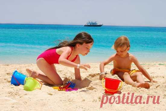 Игры на пляже для летнего лагеря
