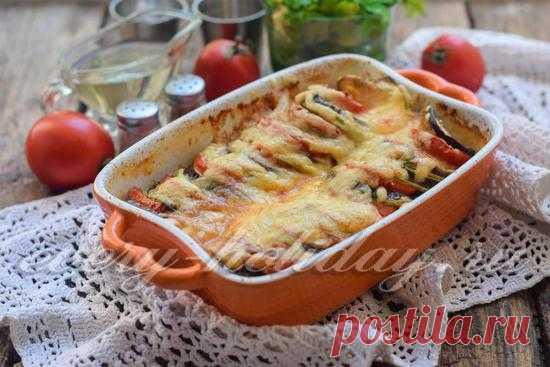 рататуй рецепт с фото пошагово в духовке с сыром