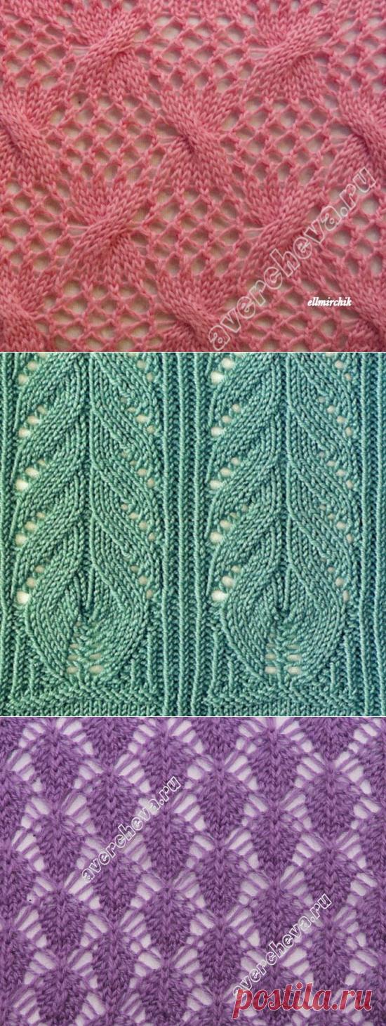 Узоры для вязания спицами 115