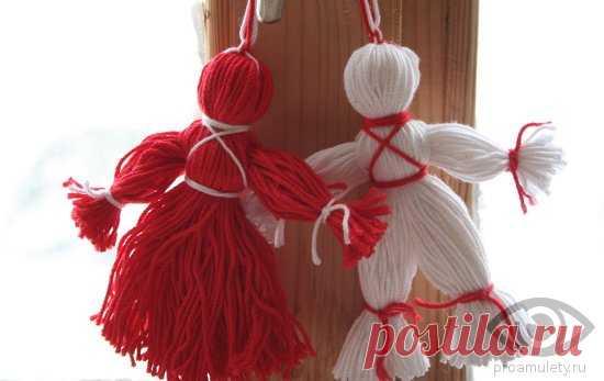 Кукла-оберег из ниток: мастер-класс по изготовлению своими руками