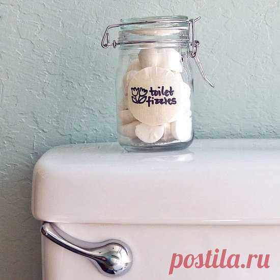 Чистящее средство для унитаза в таблетках. И не нужно мыть!