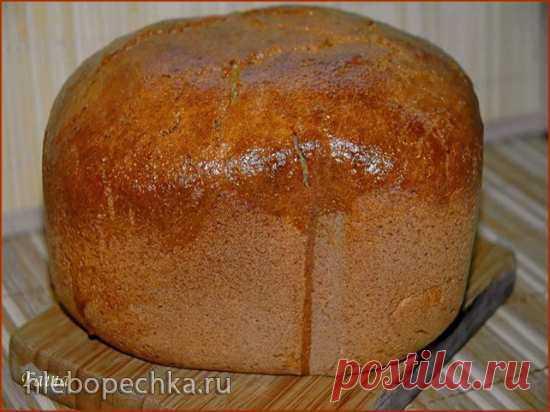 """Ржаной хлеб """"Без ничего"""" (духовка, хлебопечка, мультиварка) - рецепт с фото на Хлебопечка.ру"""