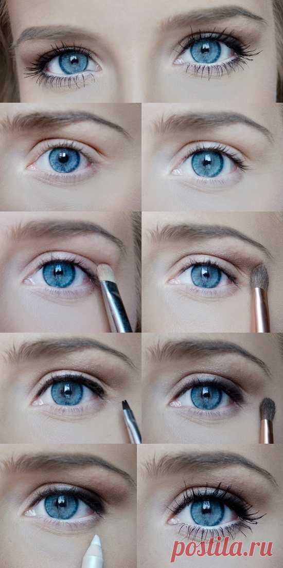 Простой, красивый и нежный макияж: шаг за шагом