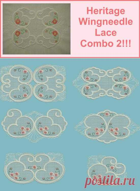 Heritage Wingneedle Lace Combo 2 - Specials - Threads n Scissors