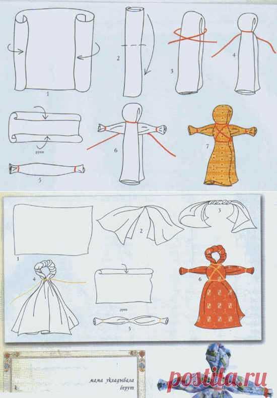 изготовление куклы своими руками в картинках меня есть