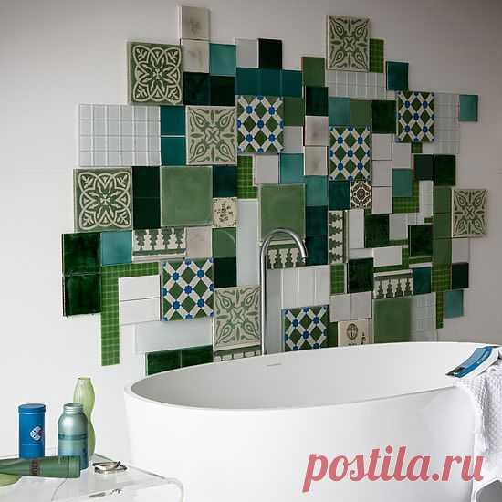 Великолепные идеи для плиточника, что класть собирается плитку в вашей ванной! - добавил(а) cr_user на ХОУМ - всё в дом, всё в семью