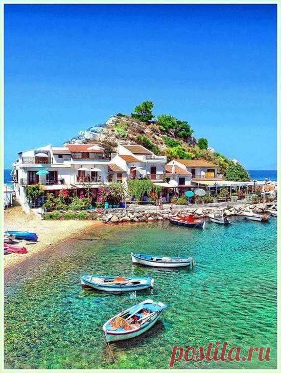 For fans of the nature and beach rest - the island of Samos, Greece