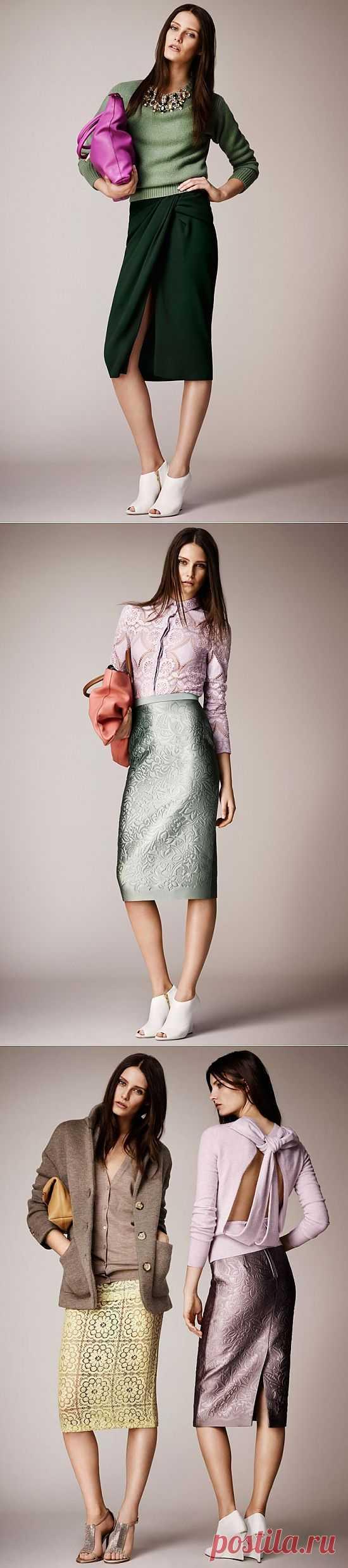Лукбук Burberry Prorsum resort 2014 / Лукбуки / Модный сайт о стильной переделке одежды и интерьера
